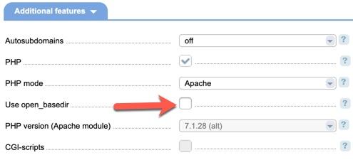 Disable openbase ispmanager