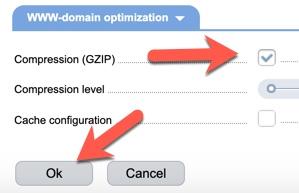Gzip ISPmanager